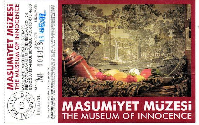 Pamuks Museum van de onschuld wint een prijs